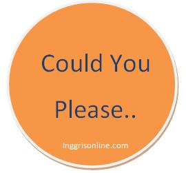 beberapa contoh dialog bahasa inggris expressing request politely atau minta bantuan