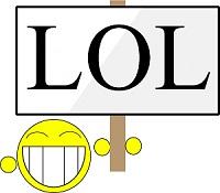 apa itu arti dari singkatan lol lmao dan cmiiw