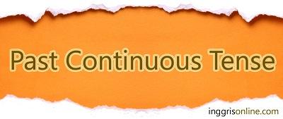 rumus past continuous tense dan contoh kalimatnya