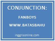 pengertian, jenis dan beberapa contoh conjunction dalam bahasa inggris