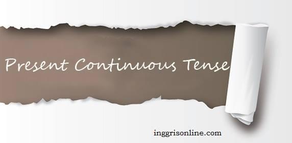 rumus present continuous