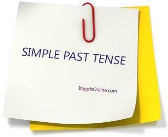 rumus simple past tense dan contoh kalimatnya